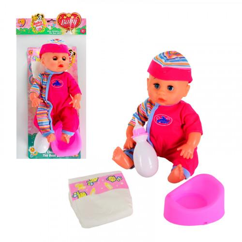 Пишкащо бебе с аксесоари