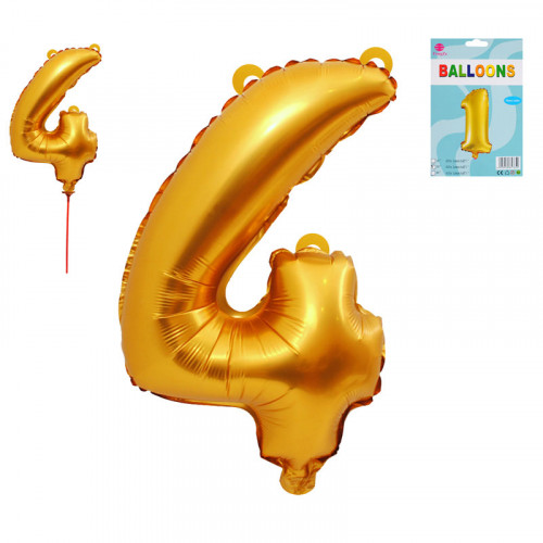 Балон - Цифра 4