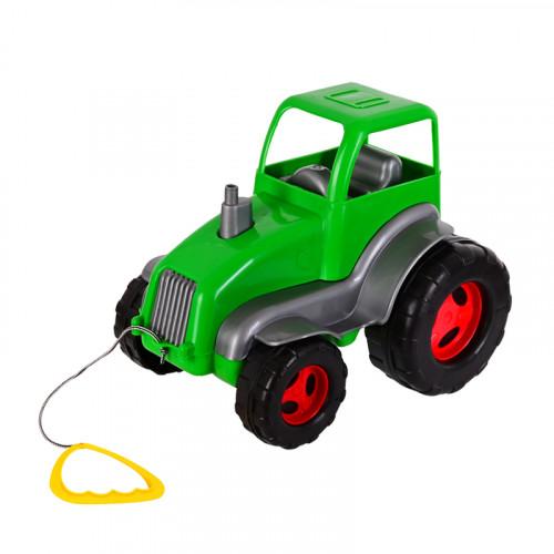 Трактор /зелен/