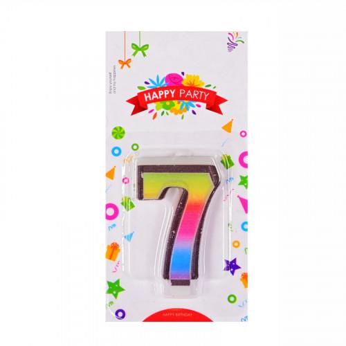 Свещички цифри - 7