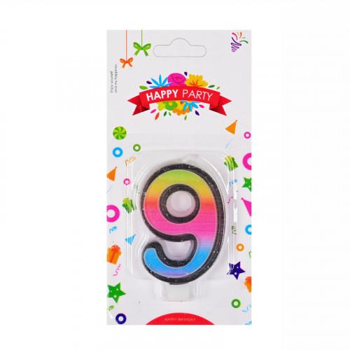 Свещички цифри - 9