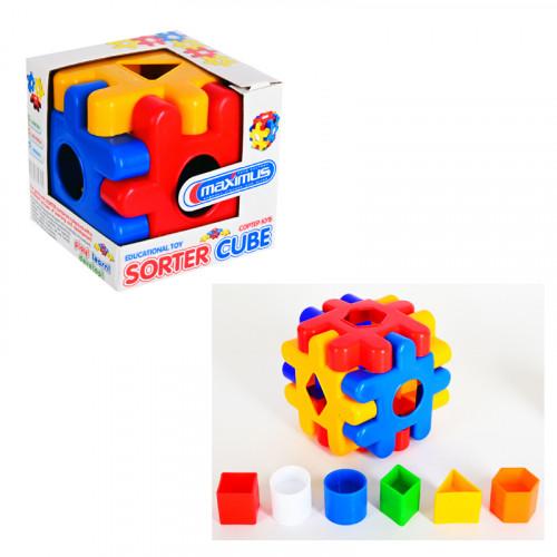 Сортер - Куб /12 елемента/