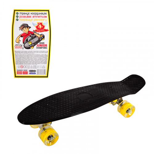 Скейтборд - пениборд /със светещи колела/