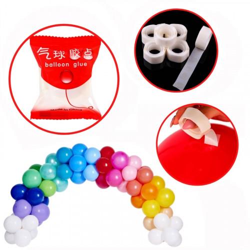 Лепилни точки за балони /100 лепилни точки/