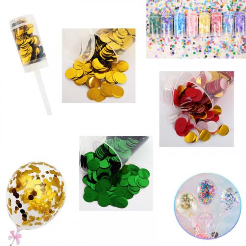 Парти конфети в ПВЦ /10 грама/