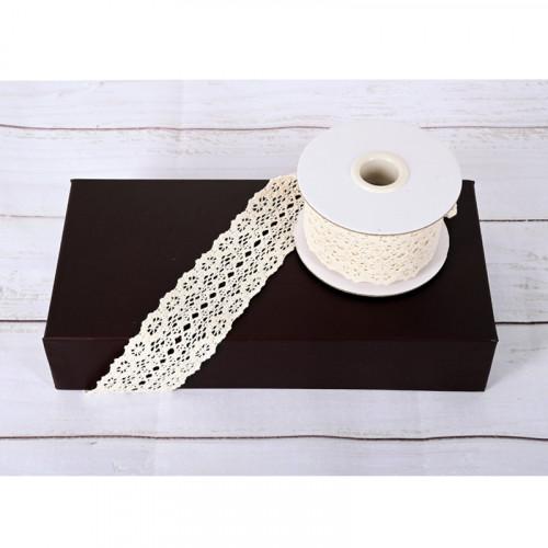 Лента плетена памучна Дантела /4,60 метра/